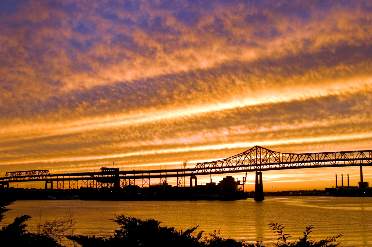 tobin bridge sunset copyright joe greene 2015