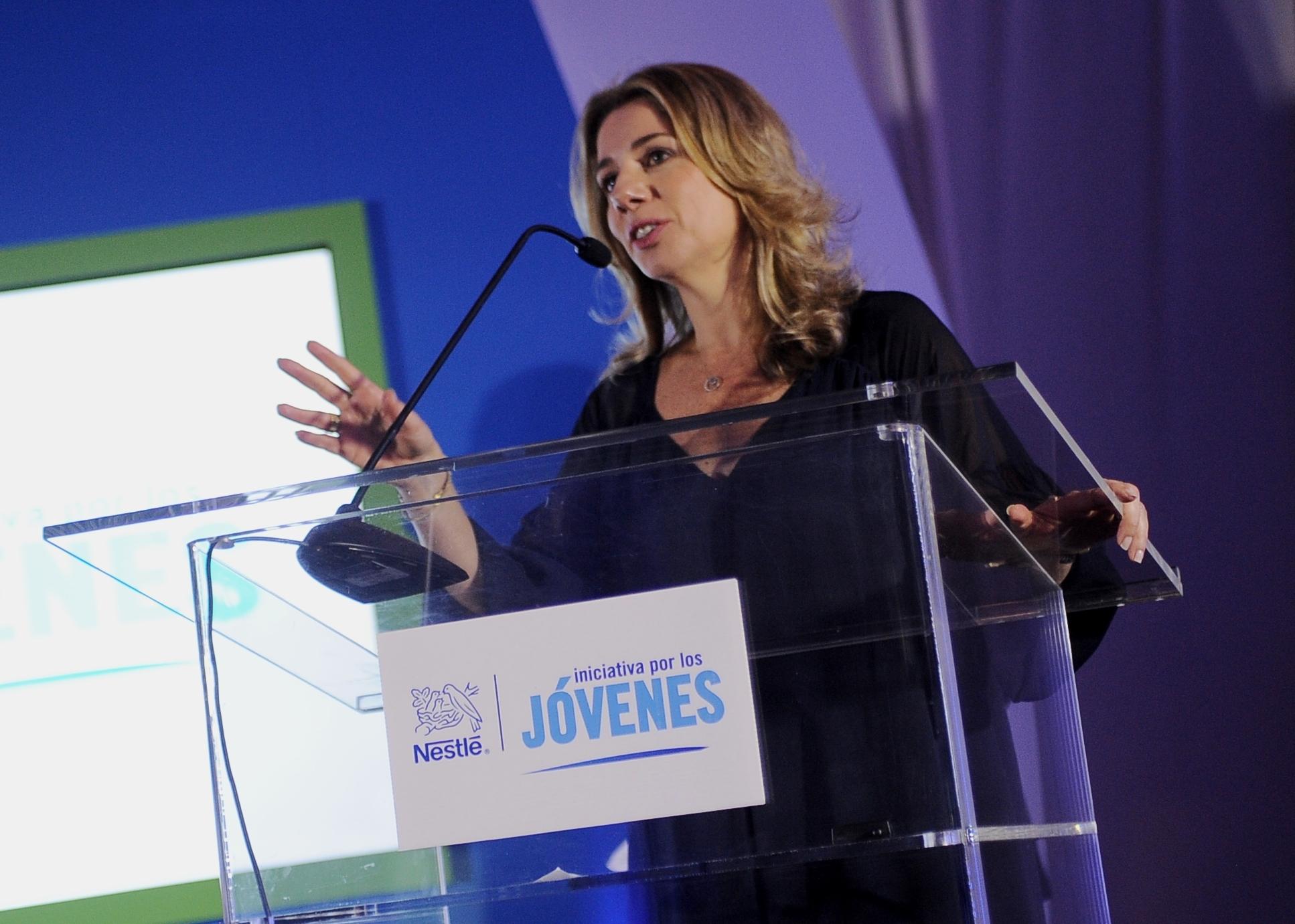 Marina Ripper, gerente de país de Nestlé Costa Rica