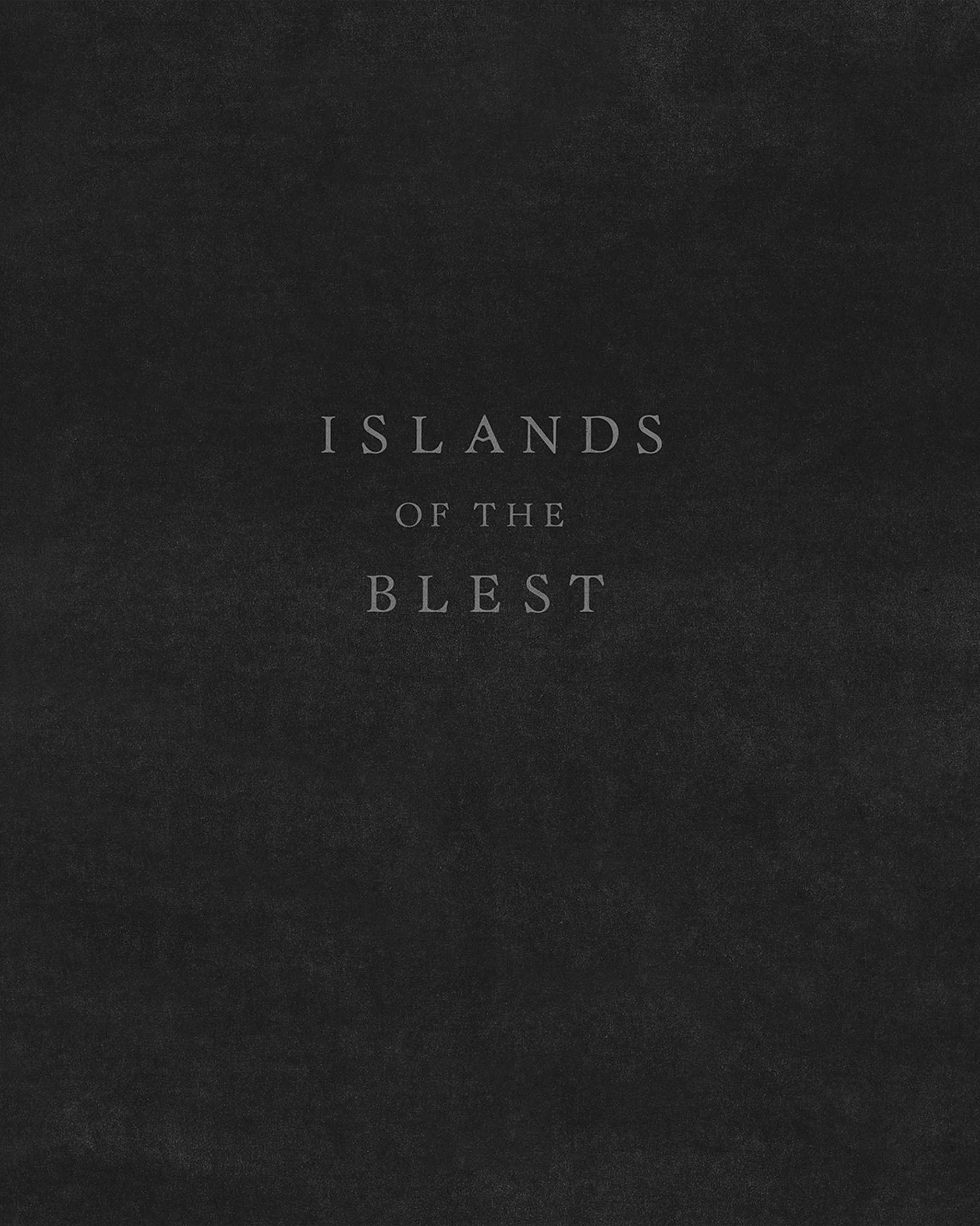 Islands of the Blest  is a book of historic photos by various photographers that were sourced from online public archives. These images were taken over a hundred year period (1870s – 1970s) and loosely tell the story of the exploration, settlement, and industrialization of the American West.