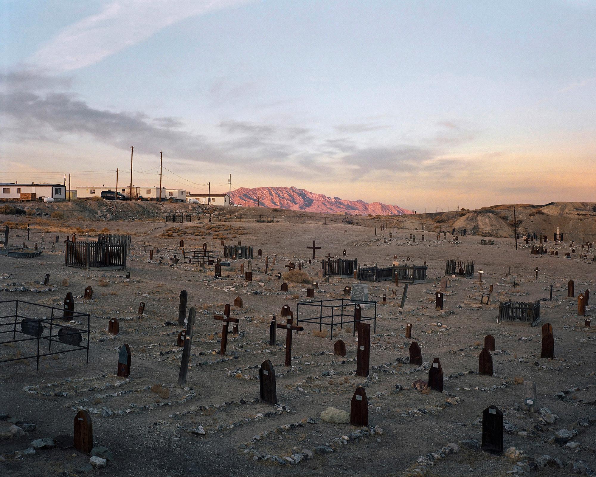 Bryan Schutmaat, Cemetery, Tonopah, Nevada, 2012