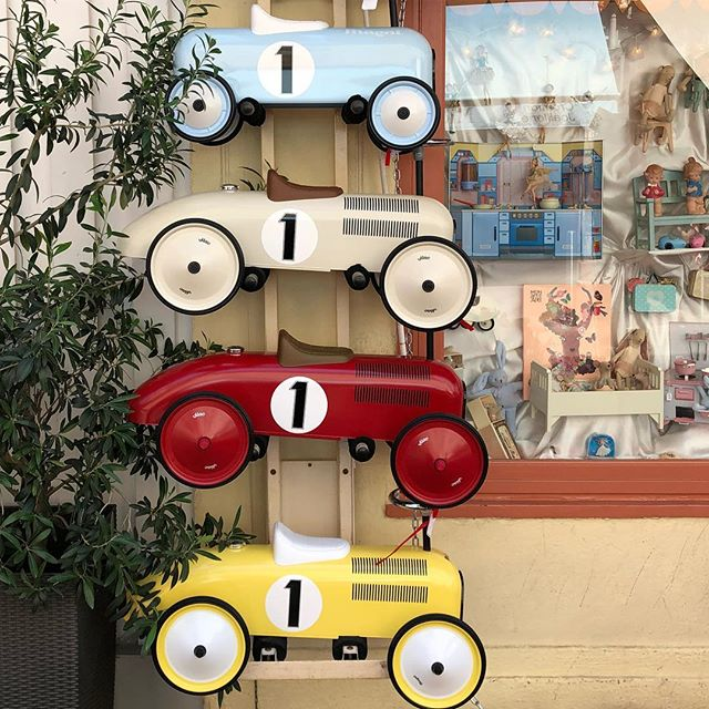One of these would have made racing to the next meeting in Cannes easier... so cool! #street #streetracer #cannes  #car #cars #toycar #childhoodmemories