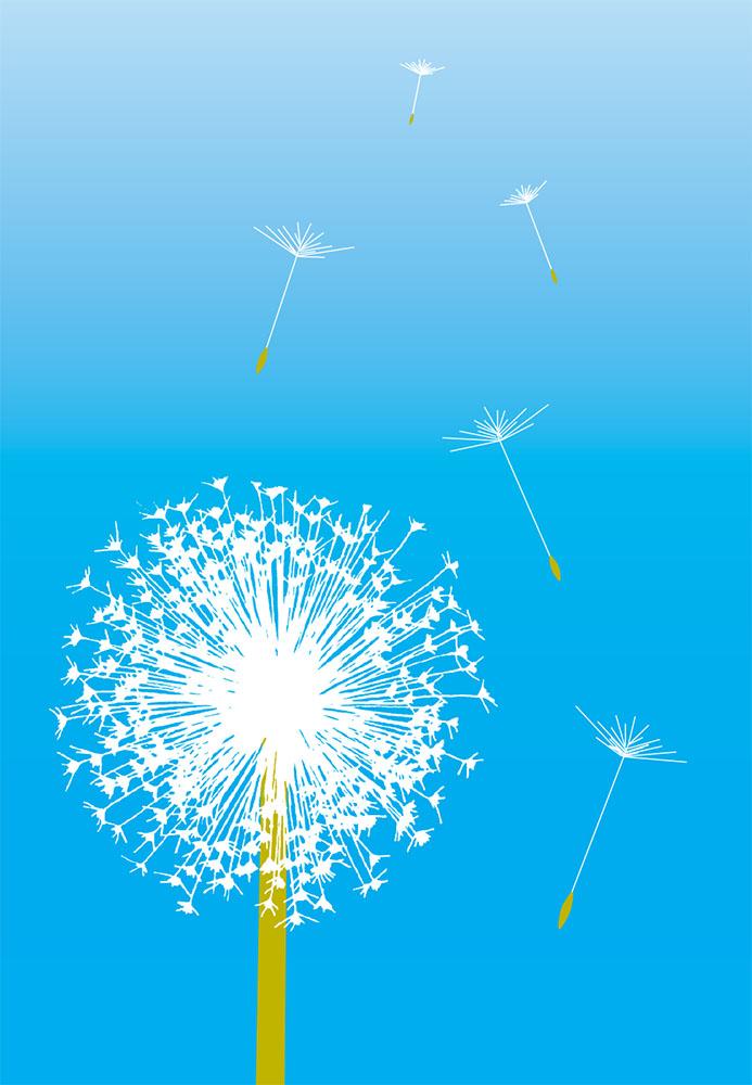 Dandelion in Blue | 182
