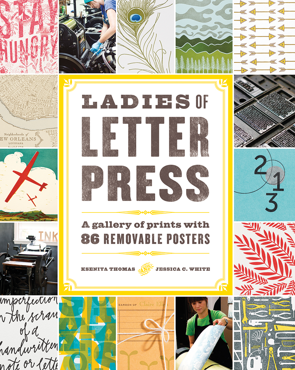 Cover of  Ladies of Letterpress  Book