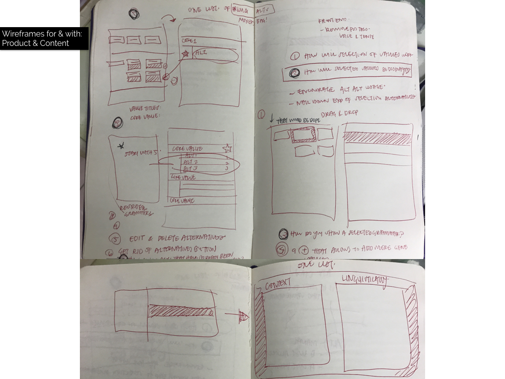 Wireframing with Product