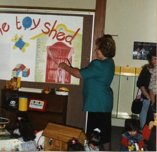 The Moreland Toy Shed officially opened in 1991