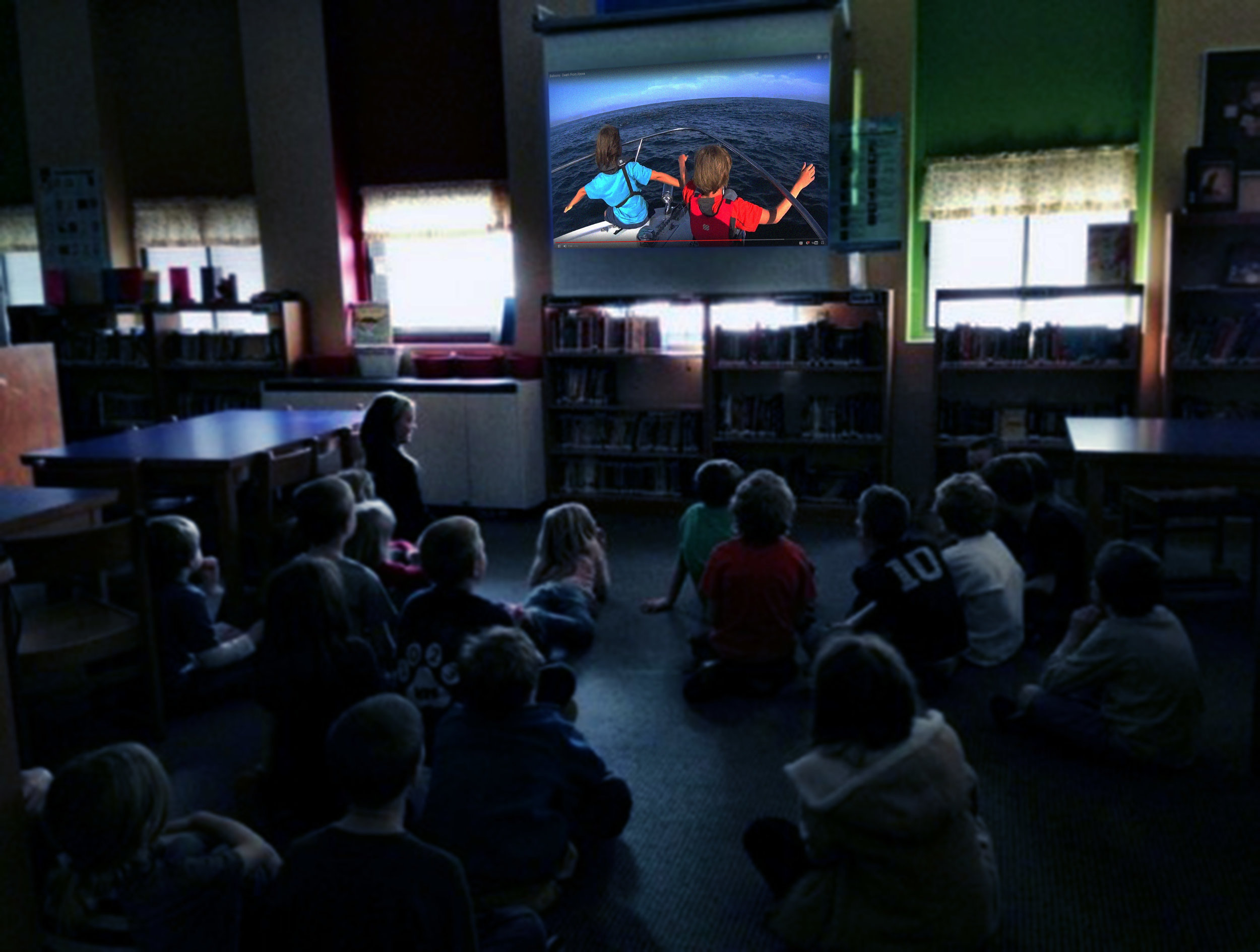 Movie Time - These 8 to 10 minute films are distributed to our network of school classrooms and educational outlets.