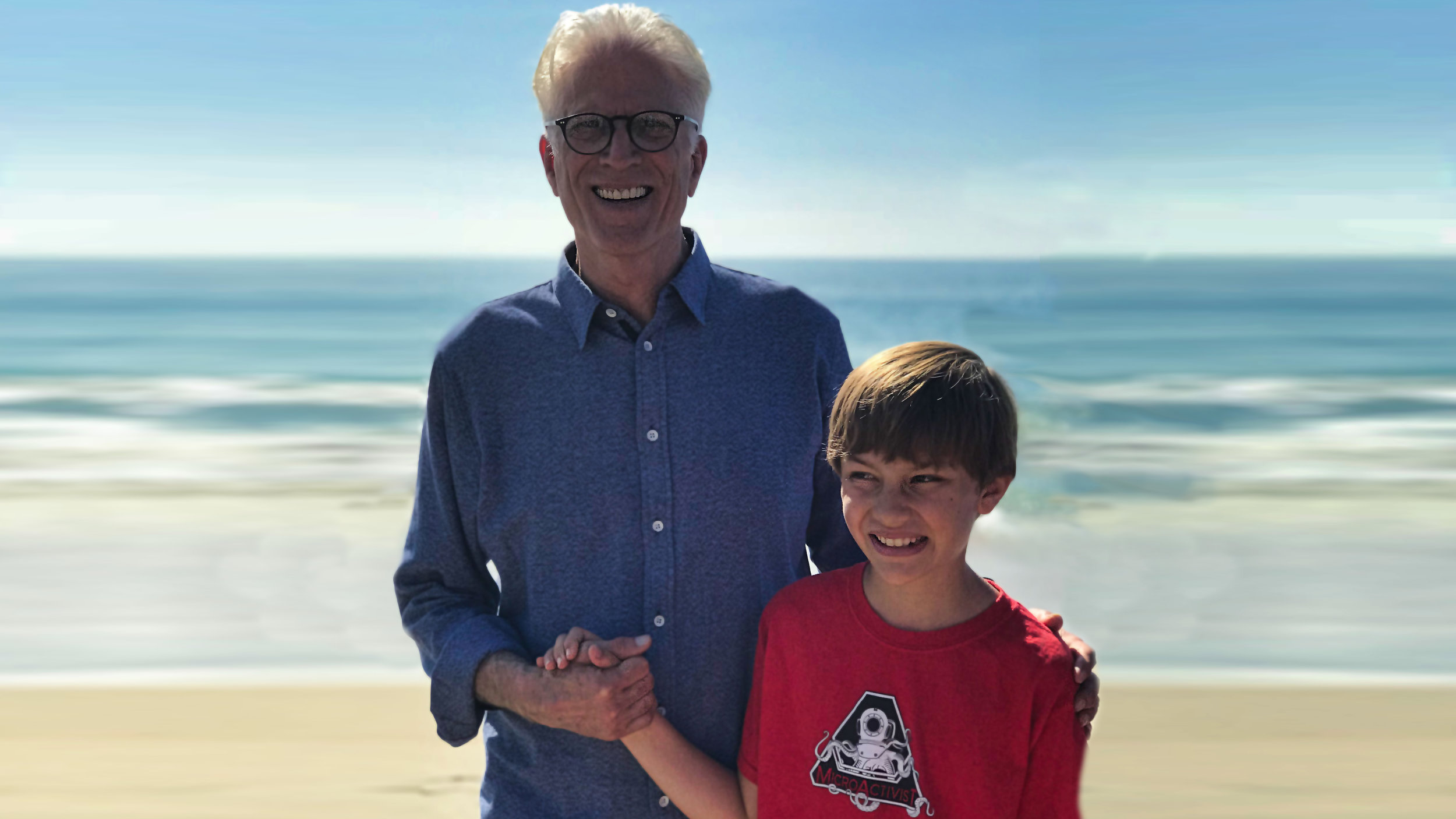 OFFSHORE DRILLING PROTEST WITH LONG TIME OCEAN ADVOCATE TED DANSON