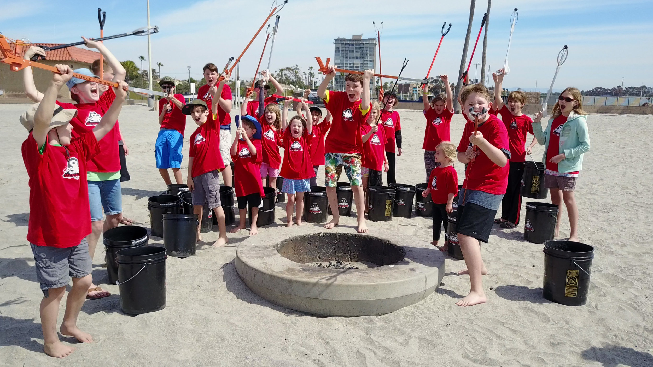 -Beach Cleanup - Microactivsts battle cry.jpg