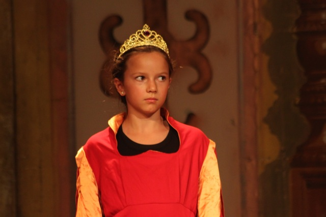'Ummm...no one told me I'd be getting beheaded when I signed up to play Anne Boleyn!'