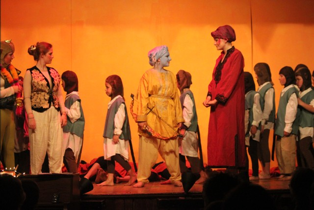Shot From a 2012 school production of the Ramayana