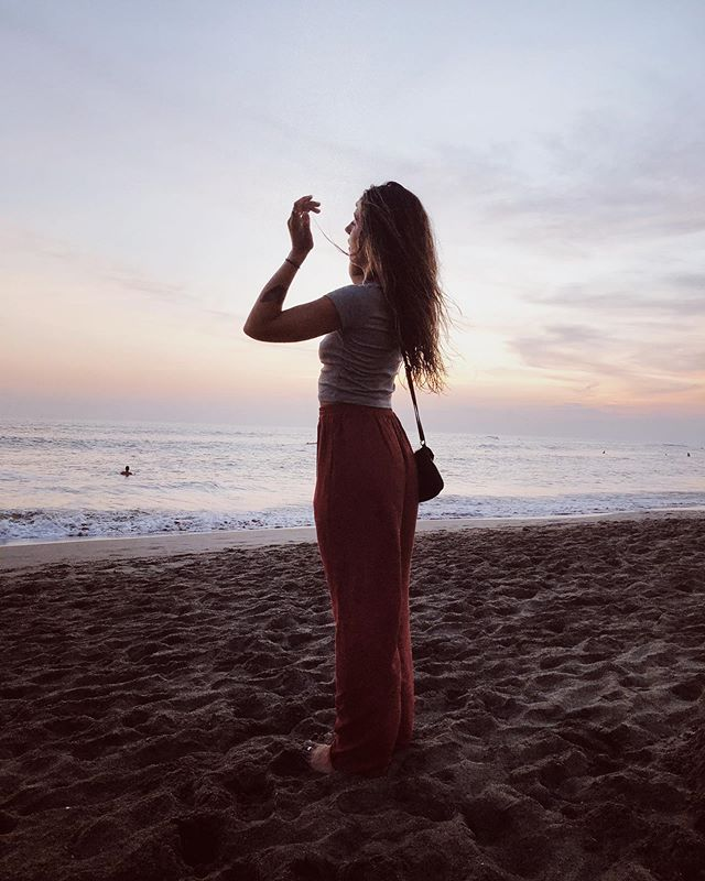 sista with her last sunset in Bali ~ @cgovoni
