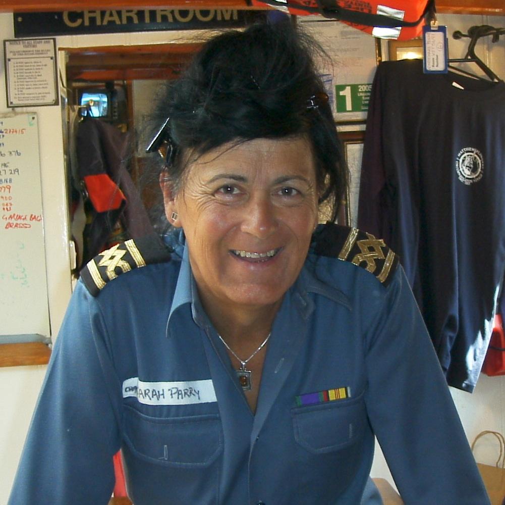 Captain Sarah Parry