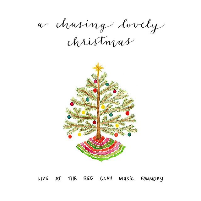 "After countless requests to release our Christmas songs, we are thrilled to announce that ""A Chasing Lovely Christmas Live"" is now available wherever you listen to music! That's right: Spotify, iTunes, Apple Music, Amazon, Google Play, and more 🎄 Link in bio! • This collection of songs was recorded LIVE at @eopresents and captures the unique chemistry and nuances that can only be heard at a live show. We like to think of these songs as our twist on the classic arrangements without compromising what everyone loves about these nostalgic tunes. One of our favorite comments we've gotten so far is: ""I hate Christmas music but I love your version!!"" • Listen while you're baking cookies (we would), decorating the tree, wrapping presents, or on your snowy drive to work! Let us know which song is your favorite by leaving a comment below ☃️ • Watercolor and calligraphy by @taylordturner"