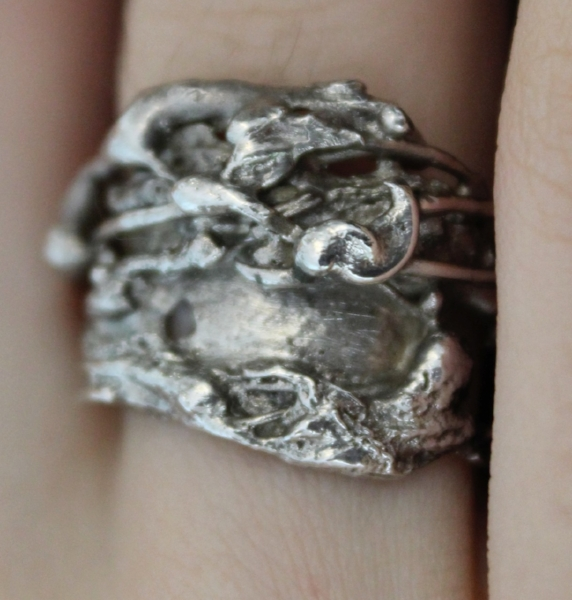 Ozidized Silver 925 - Sold