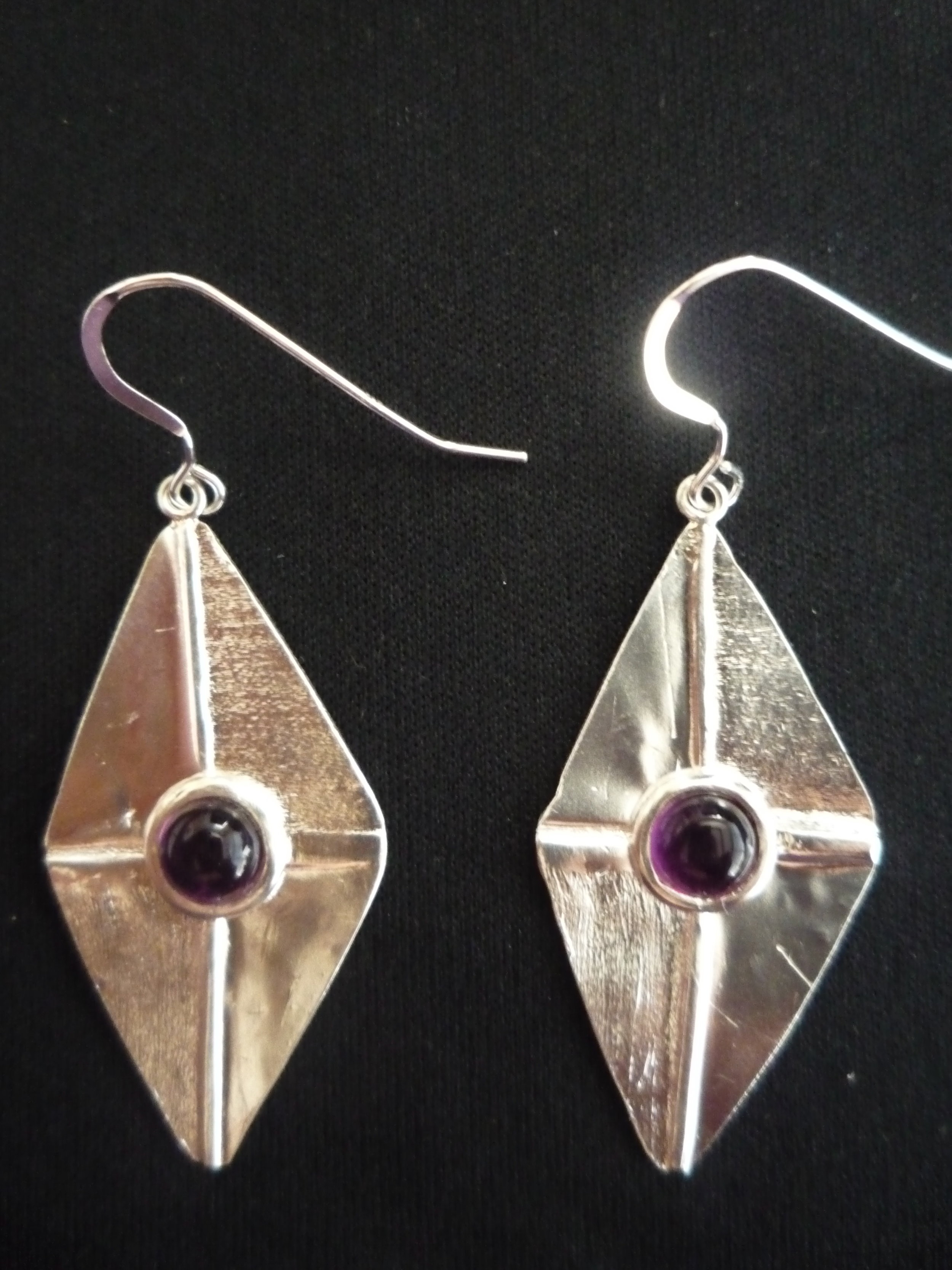 Amethyst. Silver 925 - Sold