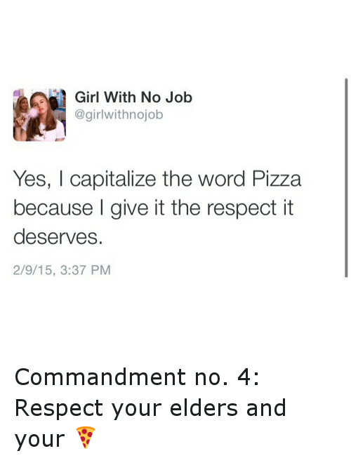 FOLLOW @GIRLWITHNOJOB