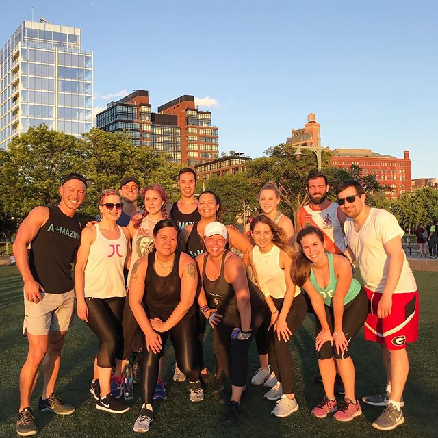 It's that time again!  Sign up now for #ClubTran Outdoor Bootcamp this Sunday, 8/18 at 10:30AM on Pier 46.  Rain or shine. Link in bio ($22).