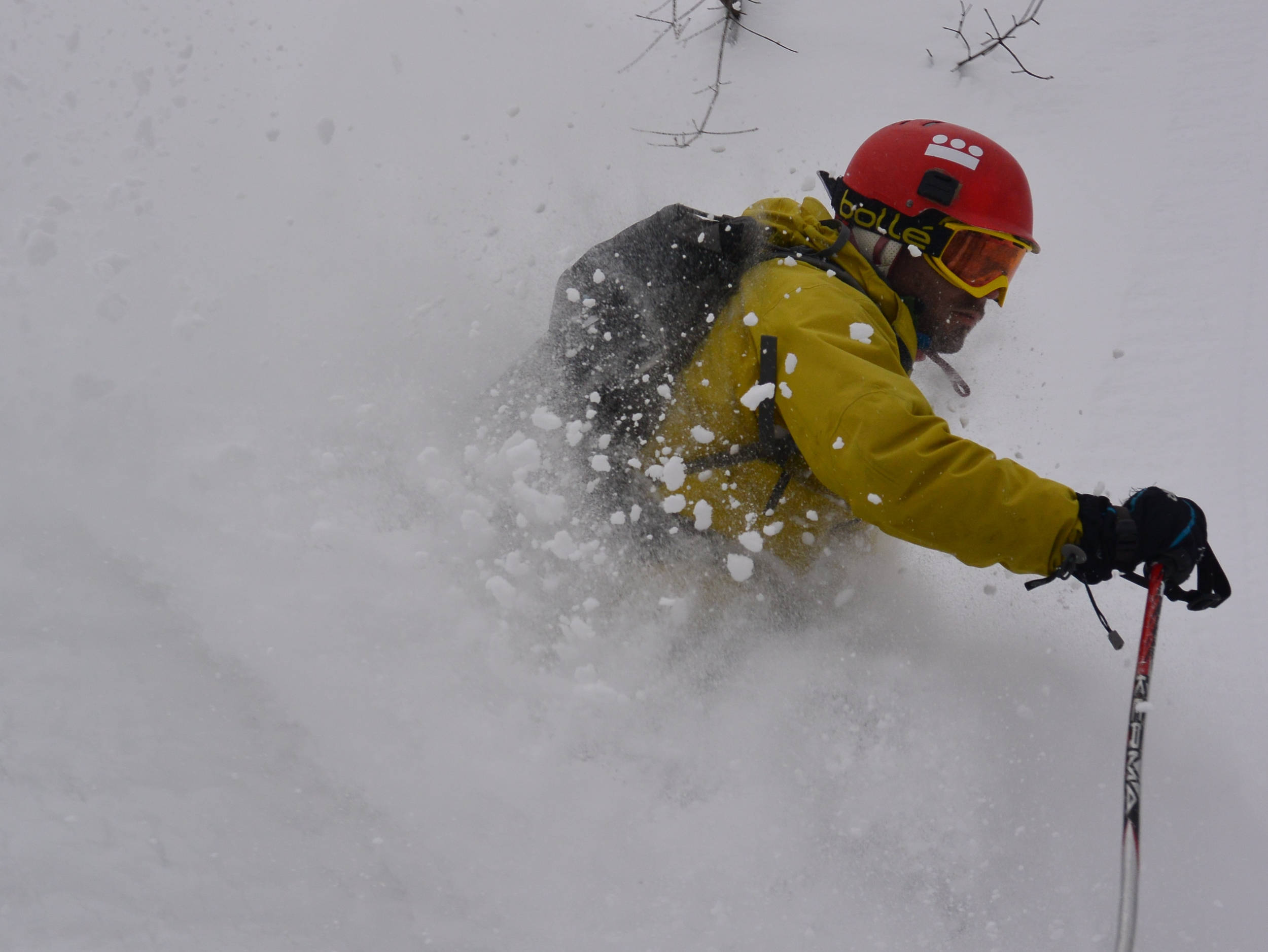 Believe it or not, this is the worst day I've had at Kokusai. © The Powder Project Pty Ltd