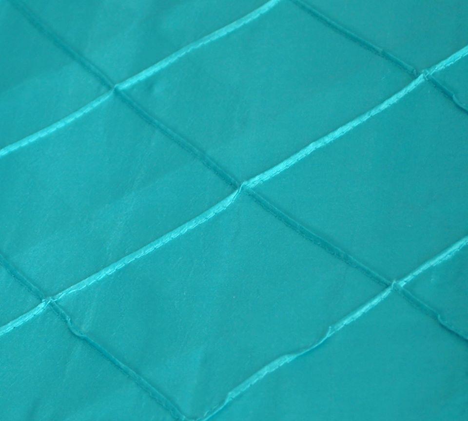 Teal/Aqua Pintuck
