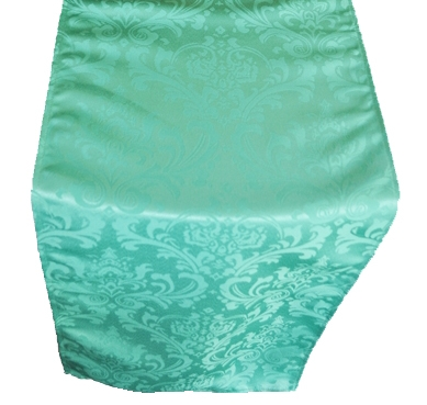 Solid Tiffany Blue Damask