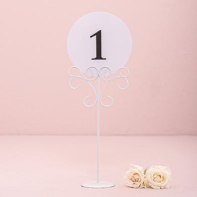 Ornamental Table Number Holders