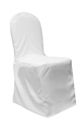 White Standard Chair Covers