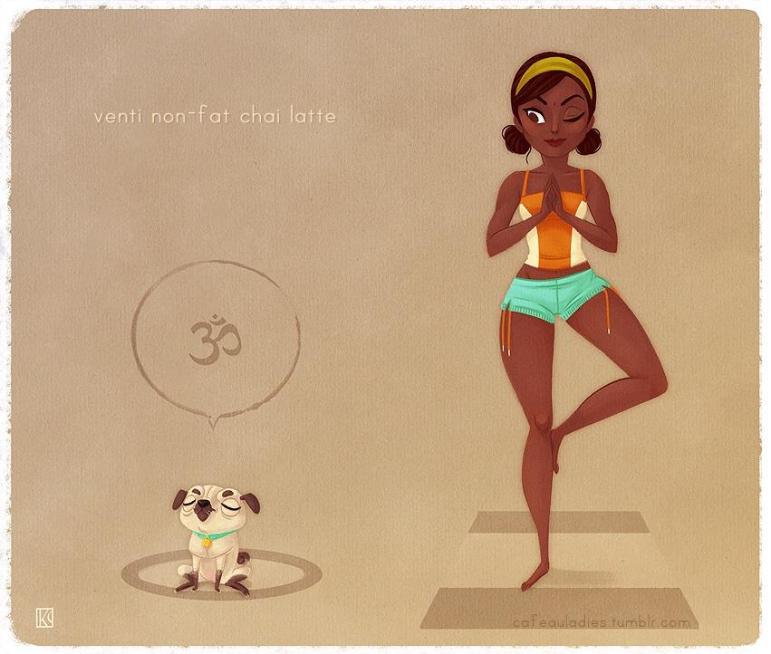 illustration by Café au Ladies