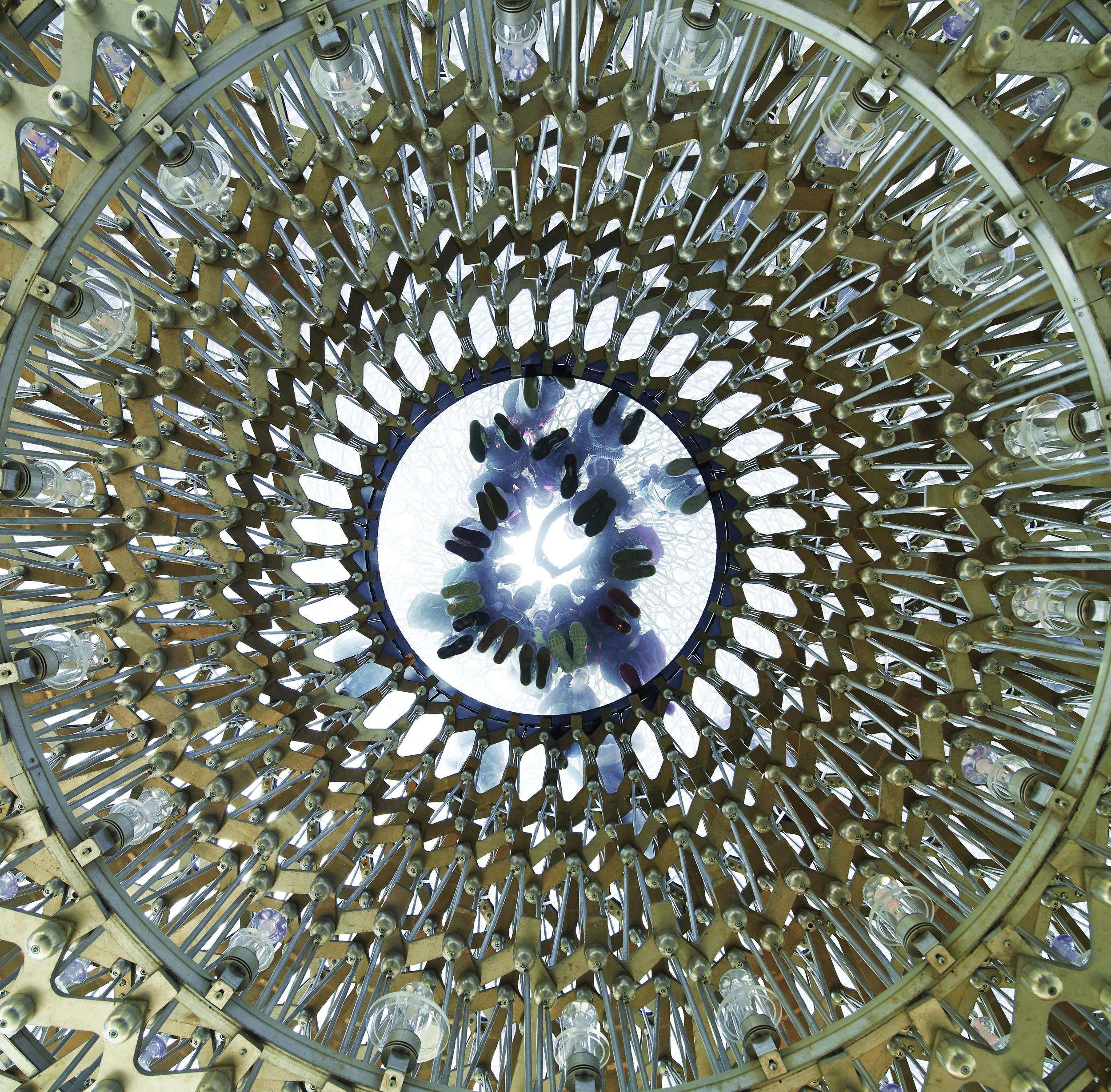 Underneath the UK Pavilion Hive, Courtesy of UKTI, Photographer Credit - Hufton+Crow.jpg