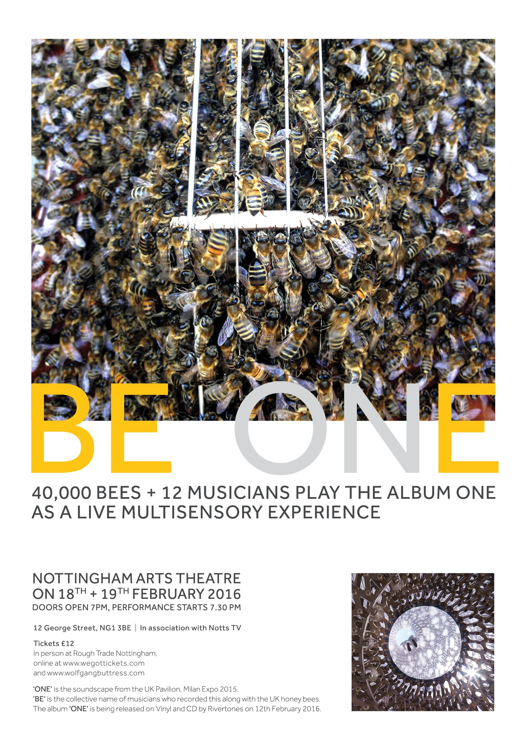 BE ONE Live at the Nottingham Arts Theatre