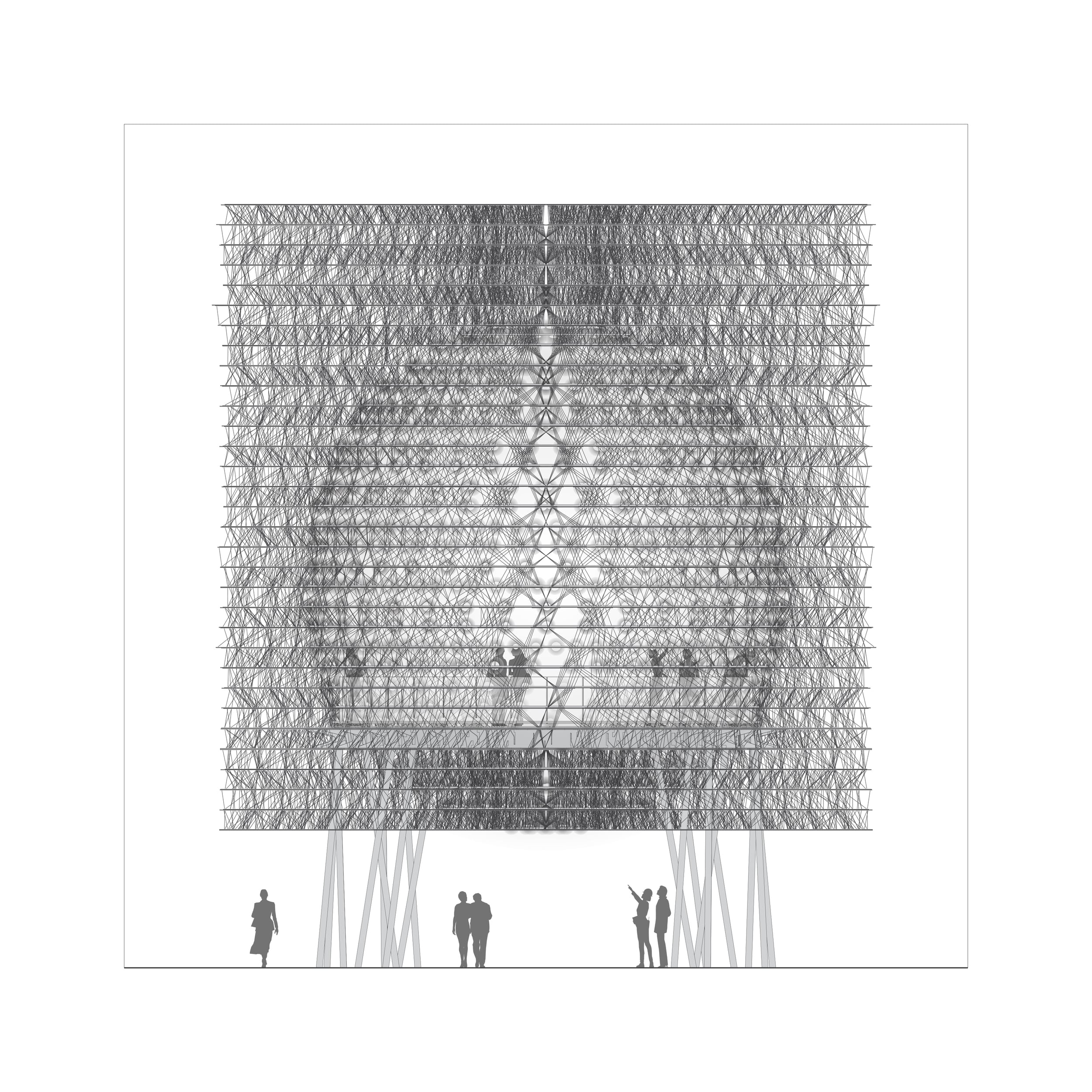 Hive Elevation - Front