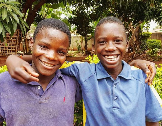We welcomed two new boys into our home yesterday 💙 On the left is Emma and the right is Fataha. We met them at our Christmas outreach dinner and have been building our relationship ever since. We are currently investigating their family situations to figure out the best way to help them and look forward to continue building these relationships!  #uganda #kwagala #kwagalameanslove #welcome #love #nonprofit #nonprofitorganization #ngo