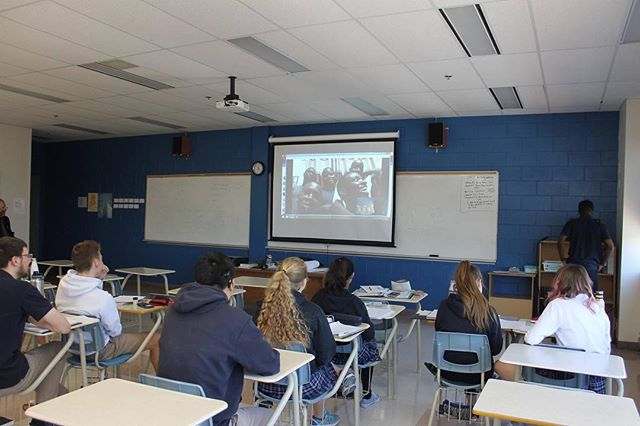 We are so excited to partner with the students of RCHS this Friday for the Ugandan Mile: Excitement is mounting on both sides of the Atlantic Ocean today. RCHS students and boys from Kwagala Ministries International connected via Skype. This weekend Redeemer students will walk a metaphorical mile in the shoes of these former street kids to raise money to provide food, shelter and educational opportunities for them.