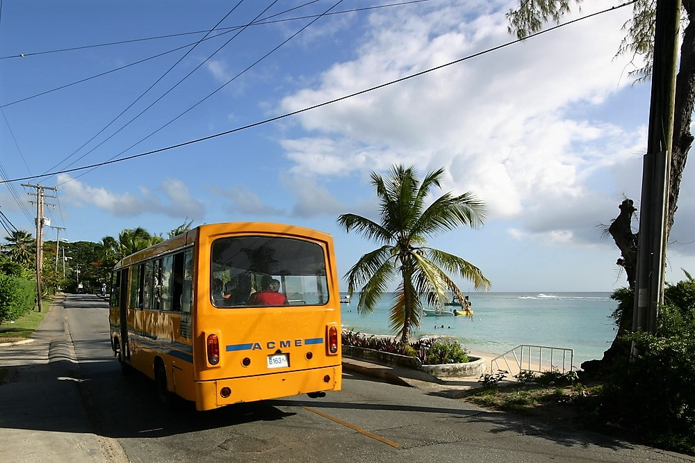 the bus stop by one battaleys mews and mullins beach