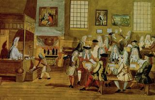 17th century coffee house
