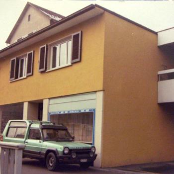 Sitz der späteren emtre ag (1985 - 1994)