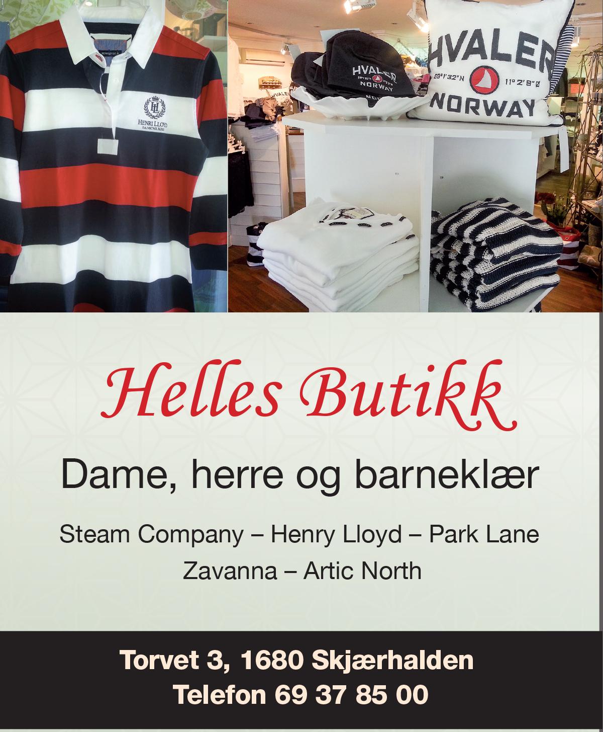 Helles Butikk Skjærhalden Hvaler