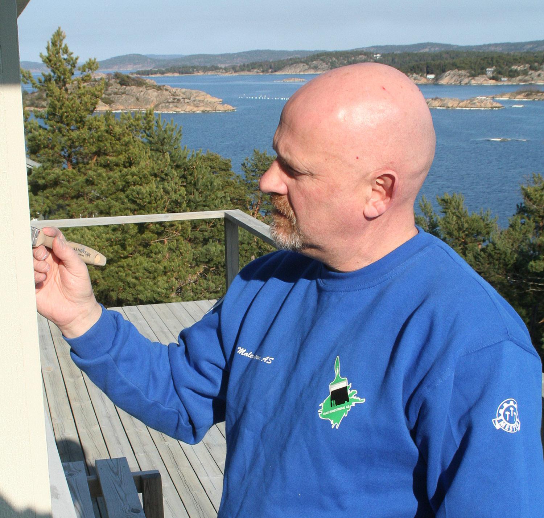 Malermester Sjur B. Hansen