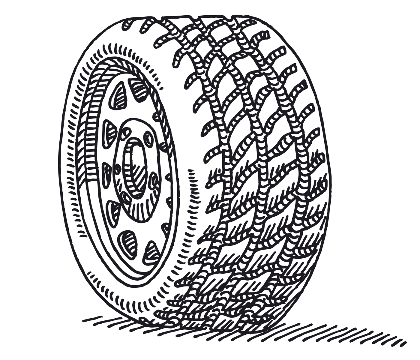 how to check your tyre tread