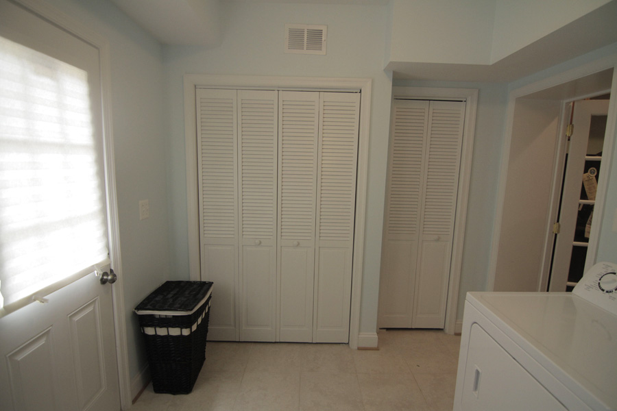 Furnace and water heater closets