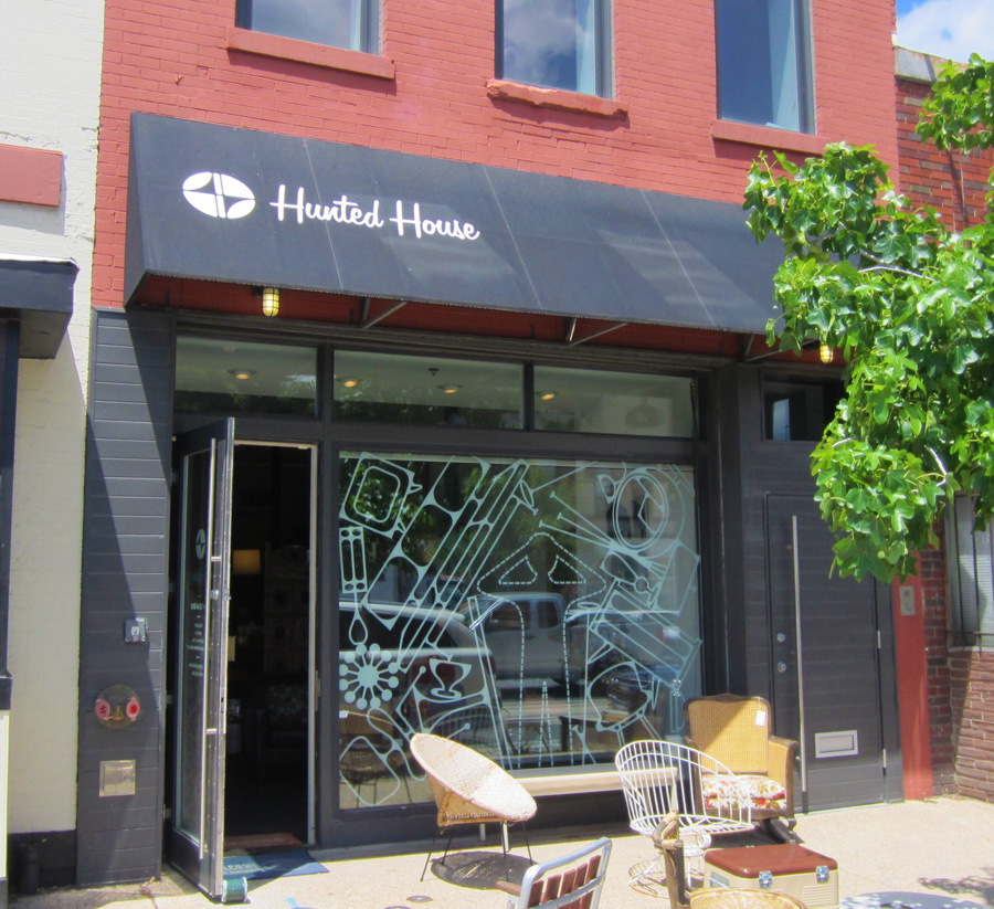 Hunted House store front in DC