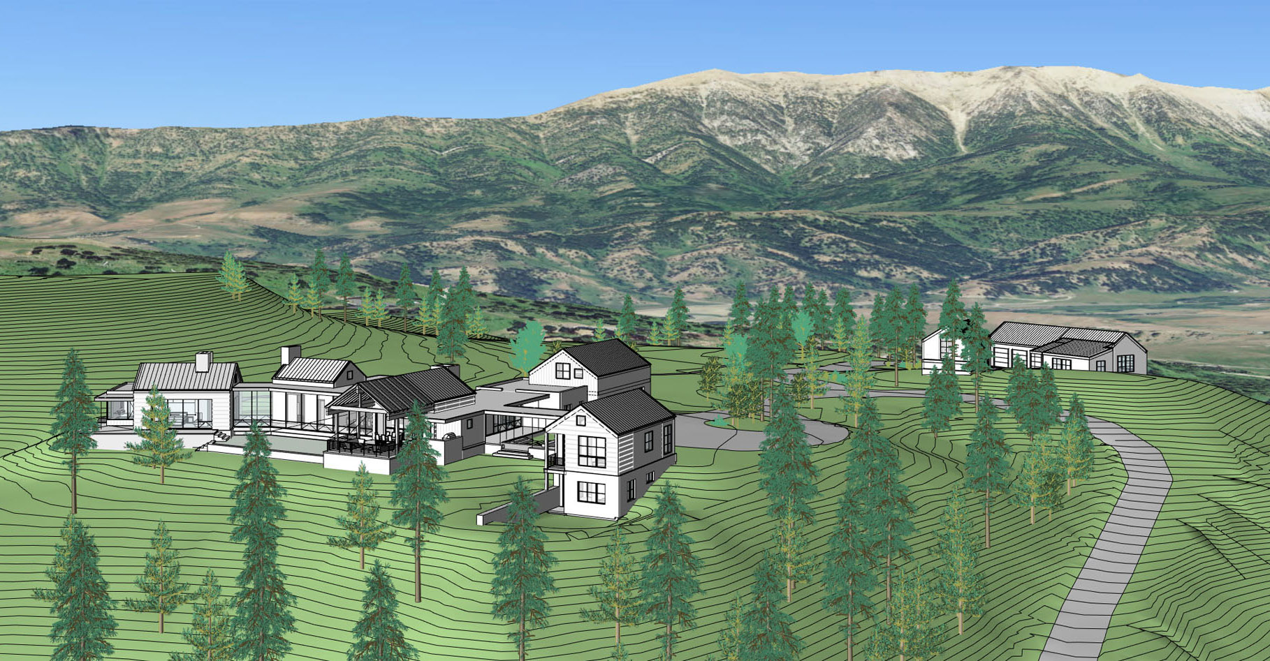 Project Modeling - A way to convey our vision of the project.3D modeling software helps to illustrate a site's character, challenges and opportunities.