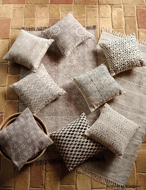 Hand block printed cushions £24.99