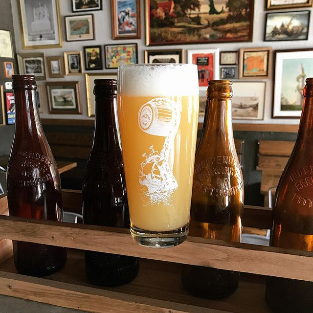 We're really excited to welcome our new friends @newtrailbrewing of Williamsport, PA to the Independent family.  On a recent visit through town the were able to drop some kegs, and they're tasting great on our lines.  On tap now we have Broken Heels, a hazy IPA that has the balance (not too sweet, not too juicy, and not too resinous) and the clean mouthfeel that we look for in this style.  It's a beautiful beer and we're looking forward to more great ones to come in the next few days!  Thanks for the drop, friends!