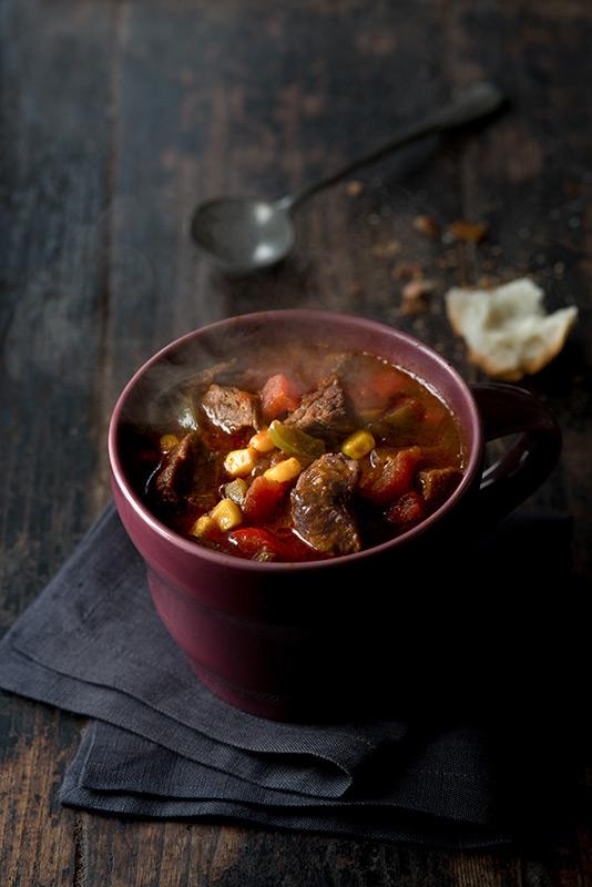 Beef Chili Food Stock Photo