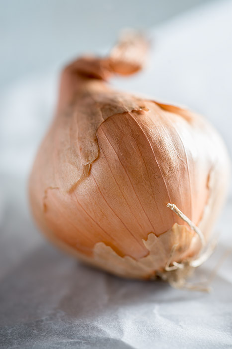 Raw Shallot Stock Photo