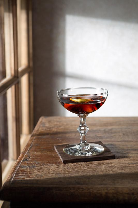 Martini Aperitif Stock Photo