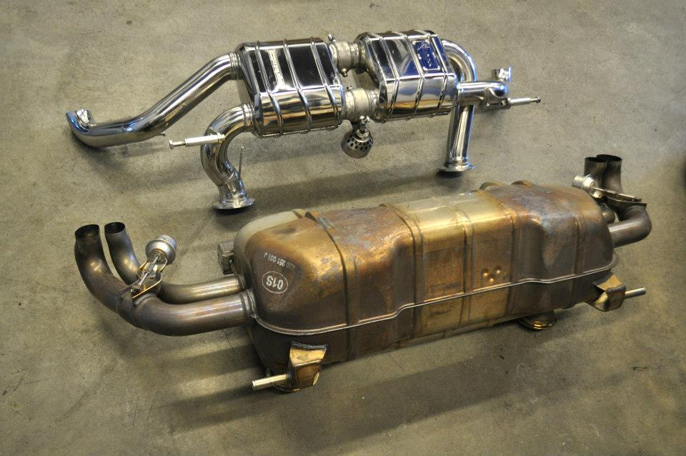 CAPRISTO VALVED R8 V10 EXHAUST