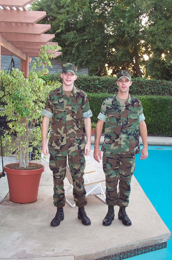 Petty Officers Timothy De Block and Chris Money