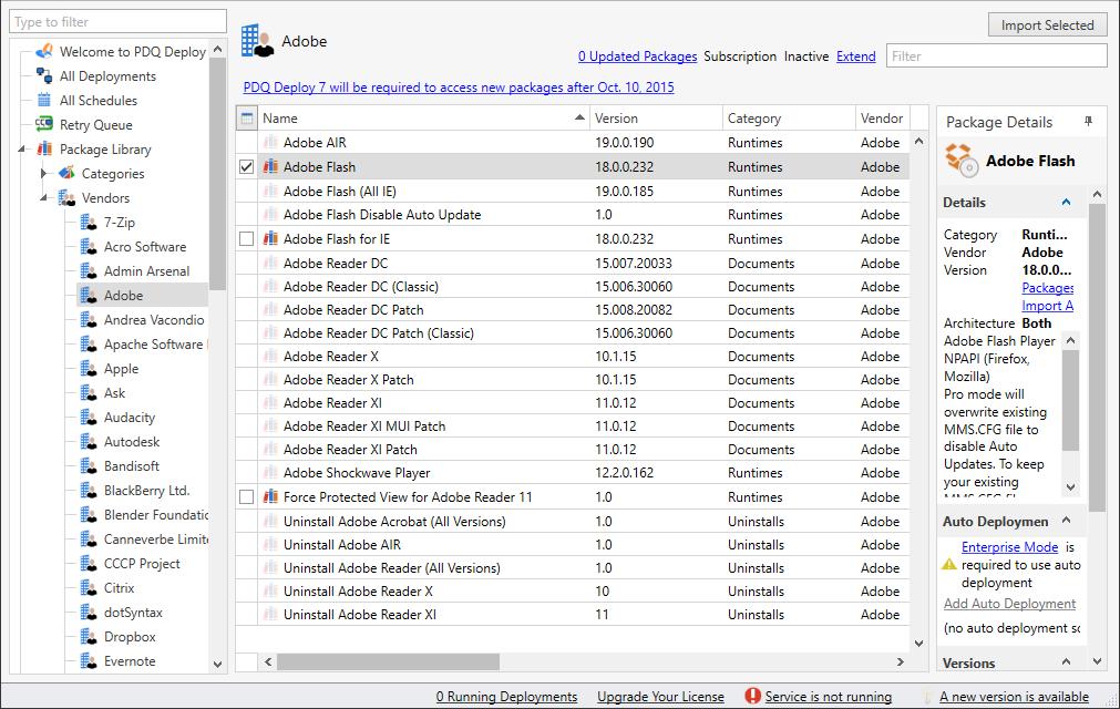 Blue Team Starter Kit - PDQ Deploy for patch management
