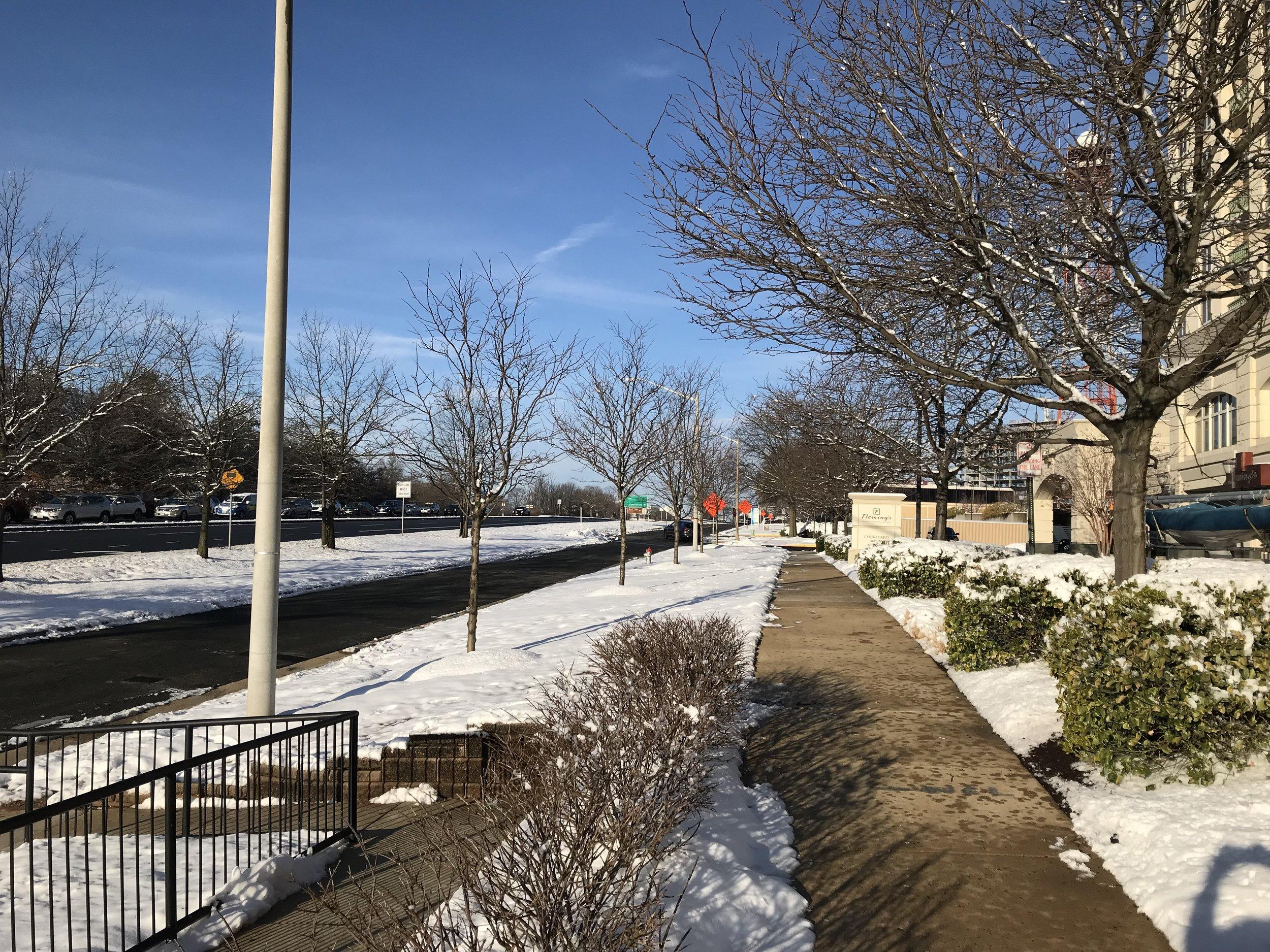 Snow in McLean, VA